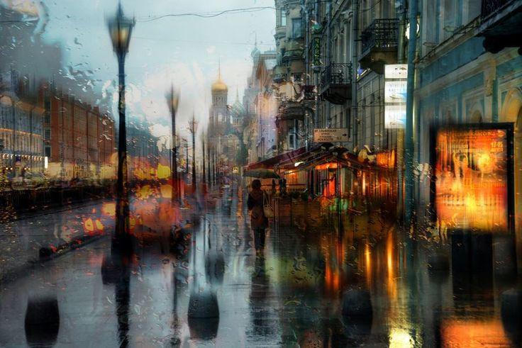 Eduard Gordeev 如夢似畫的雨中即景