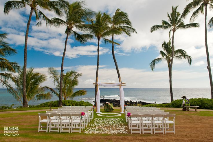 Gorgeous Wedding Ceremony On A Private Kauai Estate Moana Events Hawaii Planner Pinterest And Weddings