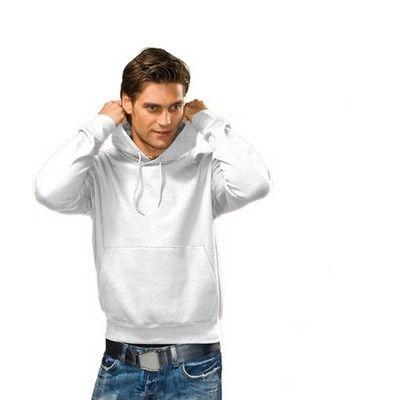 Mens Hooded Heavyweight White Sweatshirt Min 25 - Warm fabric with side seam design. http://www.promosxchange.com.au/mens-hooded-heavyweight-white-sweatshirt/p-11066.html