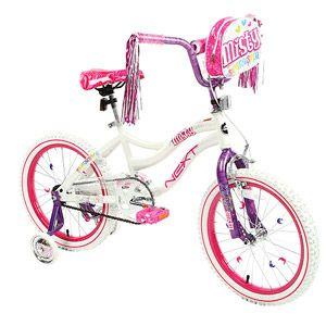 "18"" Next Misty Girls' Bike, White"