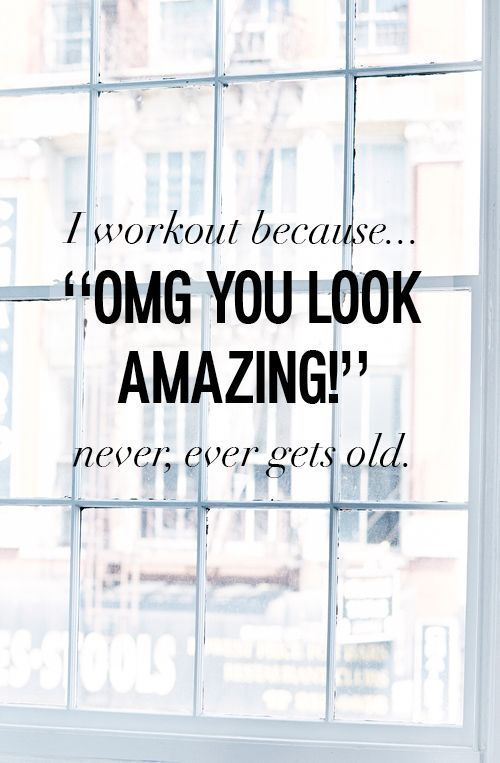 There really is no better feeling than hearing 'you look amazing'! Who else uses this as their fitness motivation?