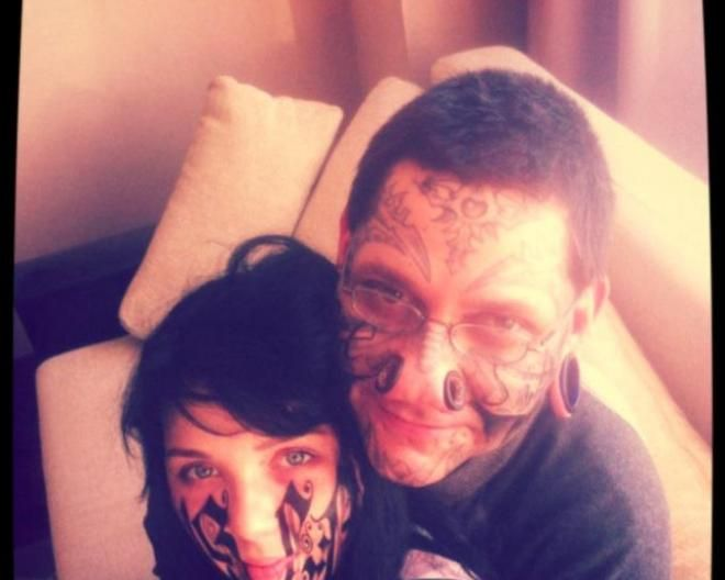Tell Him 'I Love You' With A Full Face Tattoo « Jack Seattle FM