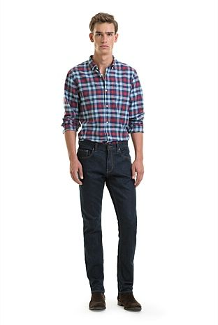 Twill Check Shirt