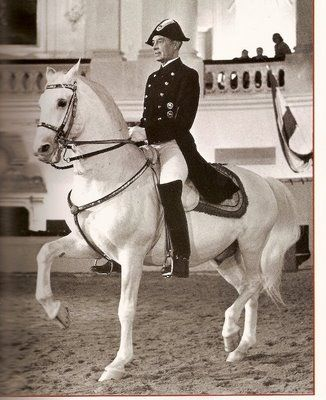 Colonel Alois Podhajsky - former Director of the Spanish Riding School in Vienna…