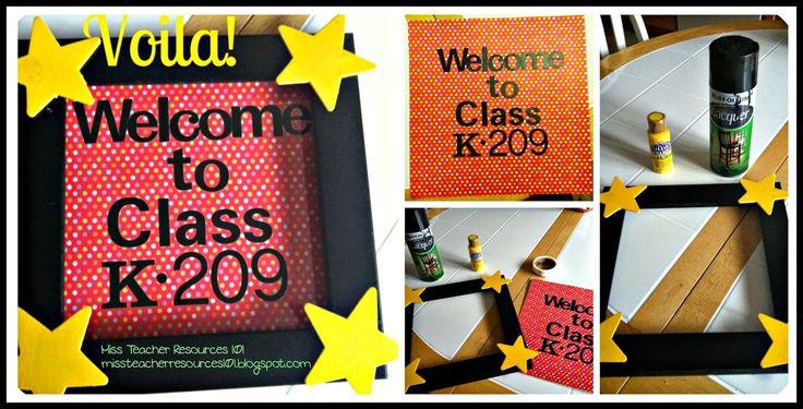 Classroom Organization, Decor, and More!
