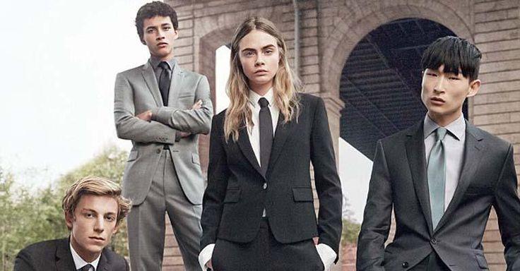 Cara Delevingne aparece com look andrógino em campanha masculina da DKNY