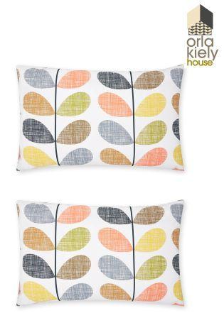 立即在Next台灣官網線上購買2件組Orla Kiely Scribble樹枝圖案Housewife枕頭套