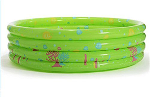 Kangkang Inflatable Unique Nonslip Soft Safe Paddling Pool for Children Underwater Ocean Wave Pool Ball Ocean Baby Swimming Inflatable Tub Green *** Details can be found by clicking on the image.Note:It is affiliate link to Amazon.