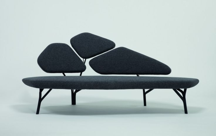 Borghese Sofa by Noé Duchaufour Lawrance for La Chance