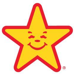Carl's Jr./Hardees star. Second job.