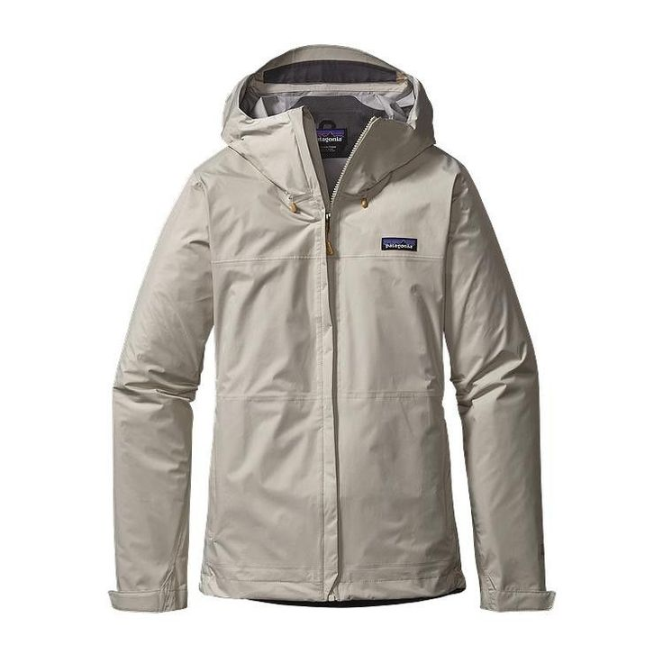 Patagonia Torrentshell Waterproof Rain Jacket- Bleached Stone from Shop Southern Roots TX