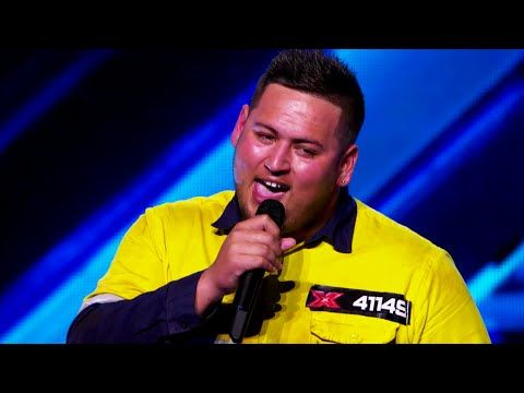 Big T: Signed Sealed Delivered - Auditions - The X Factor Australia 2015 - YouTube