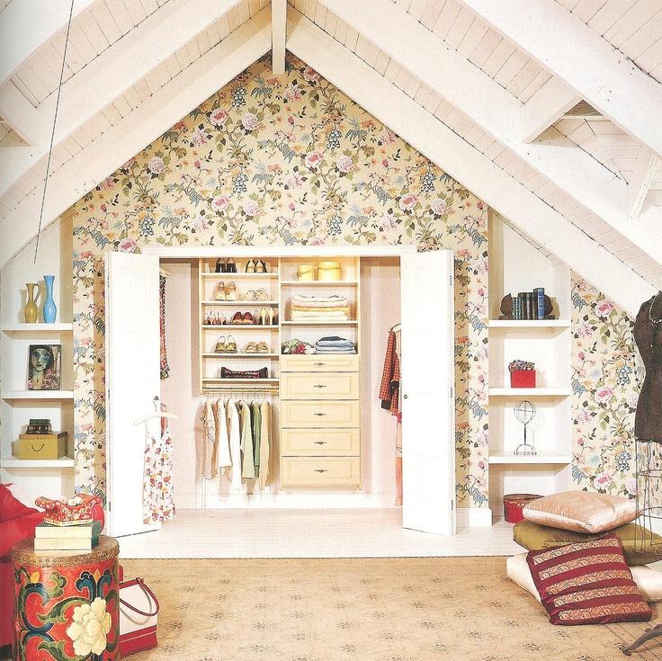 storage ideas for attic bedroom - Bedroom Storage Attic Bedroom Storage Ideas