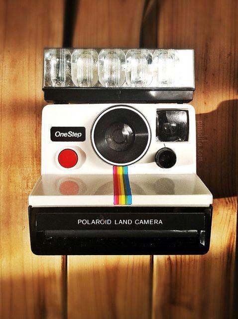 Polaroid SX-70 OneStep  ... my first camera