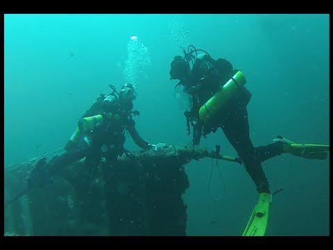 Diving on the Stolt Dagli