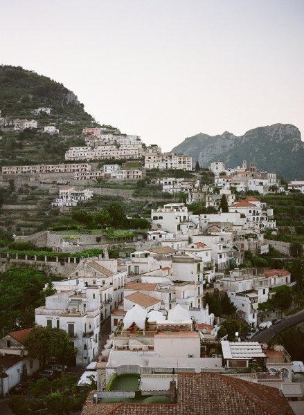 Ravello, Italy - The Backdrop