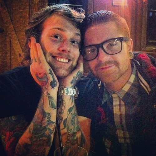danny worsnop and matty mullins