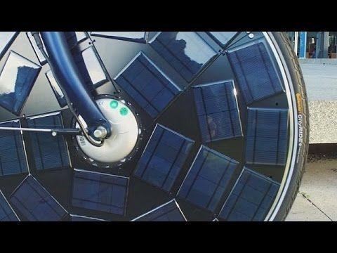 Lanzan bicicleta con paneles solares en la rueda delantera | Radio Panamericana