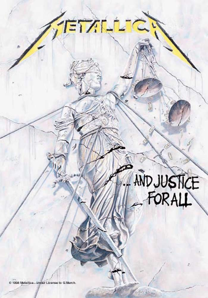 Empire Merchandising Metallica Poster Flag ...And Justice for All
