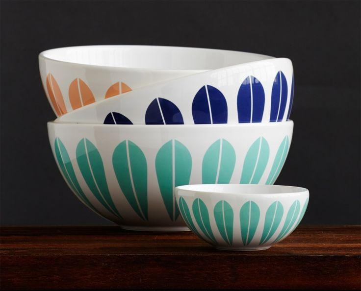 Lotus Bowl 18 cm by Lucie Kaas