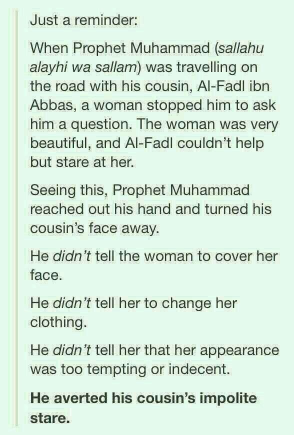 Prophet Muhammad PBUH ❤️ and modesty #haya #hijab #lowering the gaze