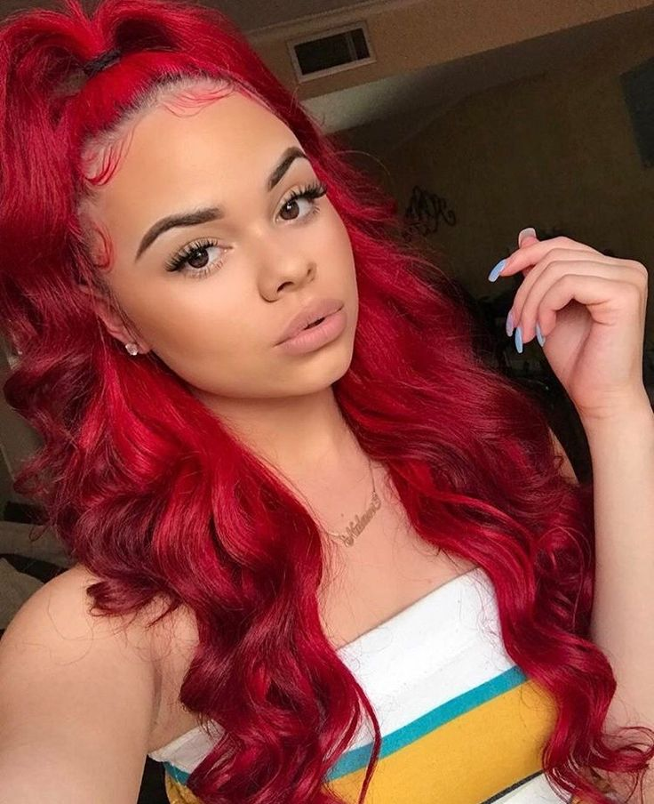 Red Hairstyles Pleasing 119 Best Red Hairstyles Images On Pinterest  Black Girls Hairstyles