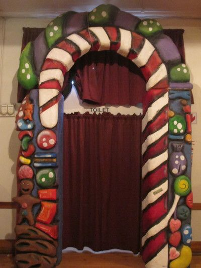 Giant Sweet Arch. Double the size of a regular door. Hardened Polystyrene. 3D. Candy Land Parties!R550 to rent for 4 days
