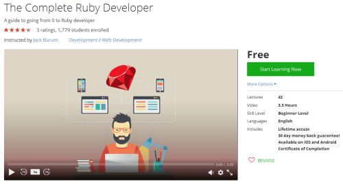 The Complete Ruby Developer  http://hii.to/4kU3Qdo5x  #guide #ruby #developer #udemy #coupon
