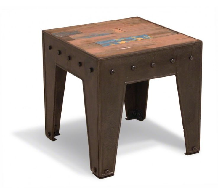 Recycled Boat Bedside / Side Table