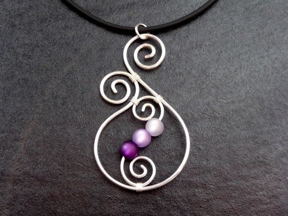 Ooh, I could make this because purple amethyst is my birth stone, and because I like it.