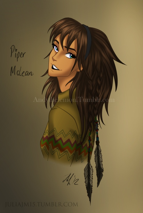 WHY THE FRICK DOES PIPER ALWAYS HAVE TO LOOK LIKE A HOBO IN FAN ART!?!?!? Honestly shes native american not a HOMELESS AMERICAN!