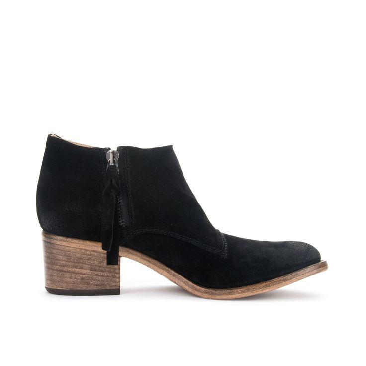 Alberto Fermani / Capricia Ankle Boots in Nero (Black) $475 #fashion  #italian