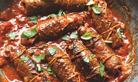 Yotam Ottolenghi's braciole: ridiculously delicious. Photograph: Colin Campbell for the Guardian. Food styling: Claire Ptak