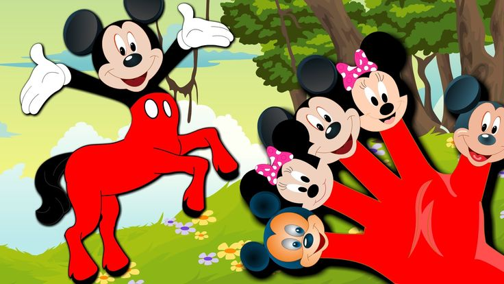 mickey mouse centaur and more mickey mose finger family songs - YouTube
