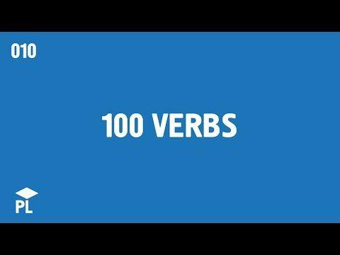 Learn European Portuguese (Portugal) - lesson 010 - 100 verbs (eu) - YouTube