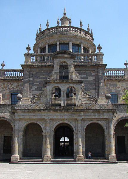 Fachada principal interior del Hospicio Cabañas. Guadalajara / Foto: El Ágora