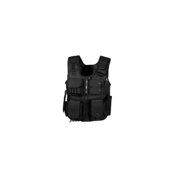 Leapers Law Enforcement SWAT Vest PVC-V548BL w/ Free Shipping and... (140 SEK) ❤ liked on Polyvore featuring tactical, army and vest