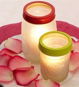 candle holderSprays Painting, Canning Jars, Jar Candles, Frostings Votive, Candles Holders, Candles Jars, Mason Jars Candles, Votive Jars, Crafts
