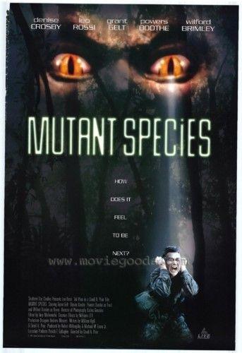 Mutant Species Movie Poster Print