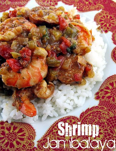 Shrimp Jambalaya for Mardi Gras