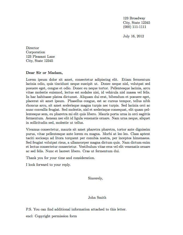 Best 25+ Formal letter format sample ideas on Pinterest Letter - formal letter format sample