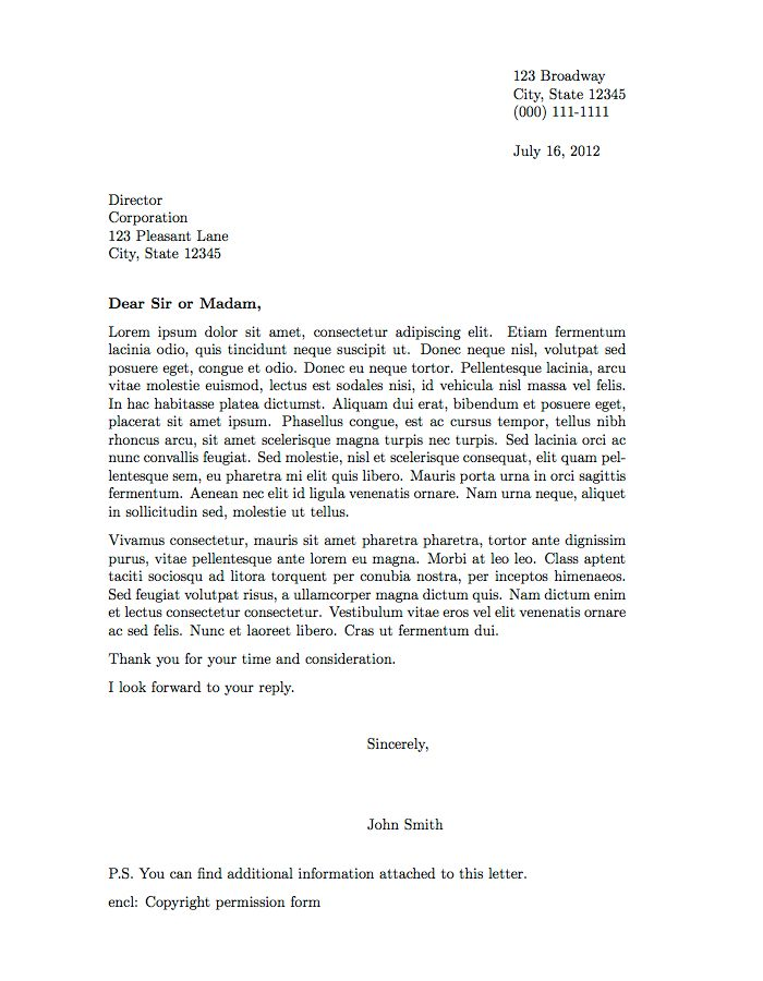 Best 20 Formal Letter Template ideas – Professional Letter Formats