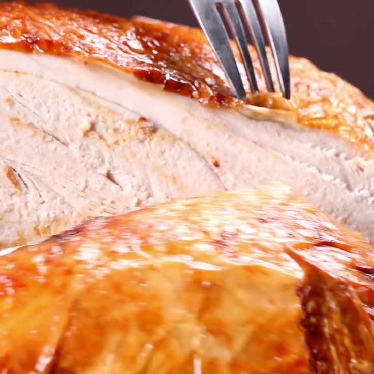 Deep Fried Turkey // #turkey #holidays #Thanksgiving #food #Tasty
