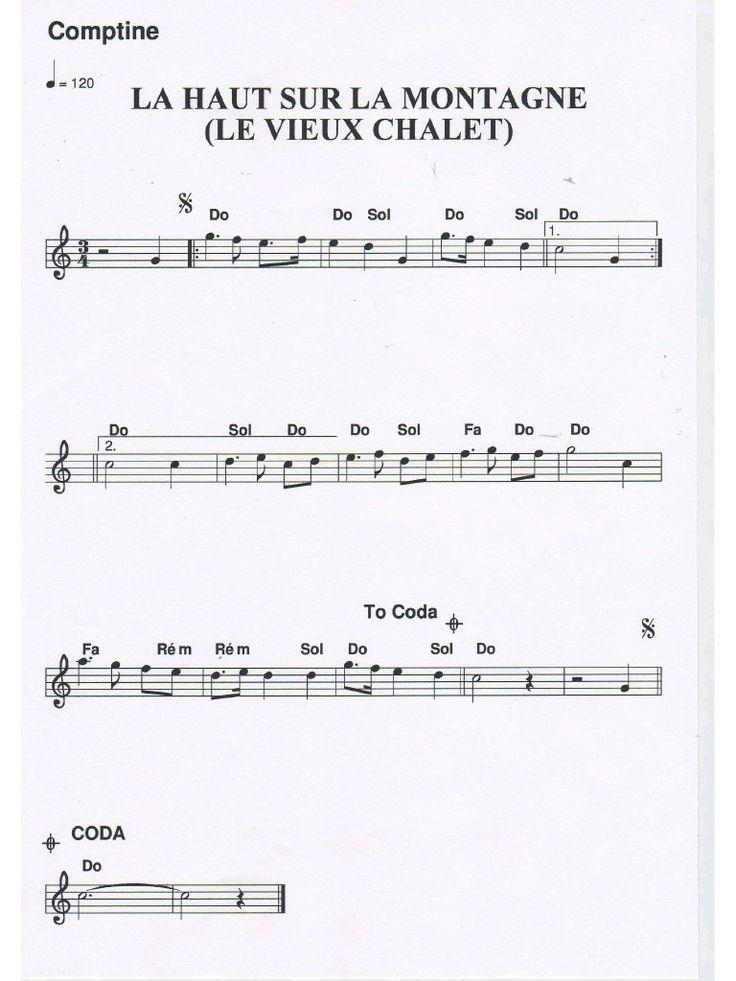 partition accordéon gratuite Là haut sur la montagne (partition accordéon gratuite Là haut sur la montagne.pdf) - Fichier PDF