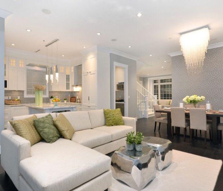 Cuisines hommes disposition du sol étage ouvert inspire me home decor concept ouvert maisons de rêve idées déco appartement salle à manger