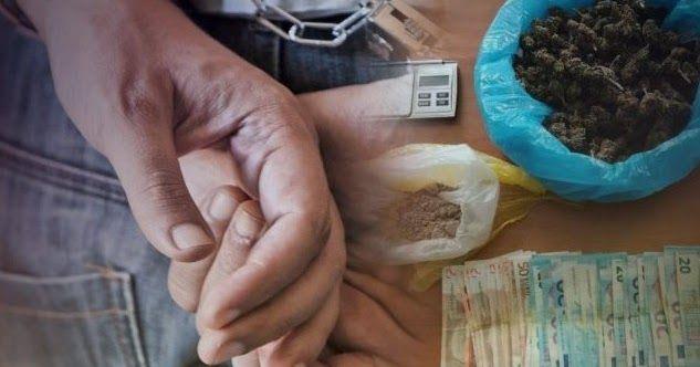 Ηράκλειο: Κάνναβη, ηρωΐνη και 1.070 ευρώ τον έβαλαν σε … μπελάδες