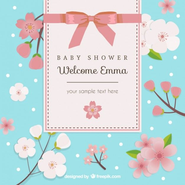 24 best bebes images on Pinterest Invitations, Baby shower cards - best of invitation card vector art