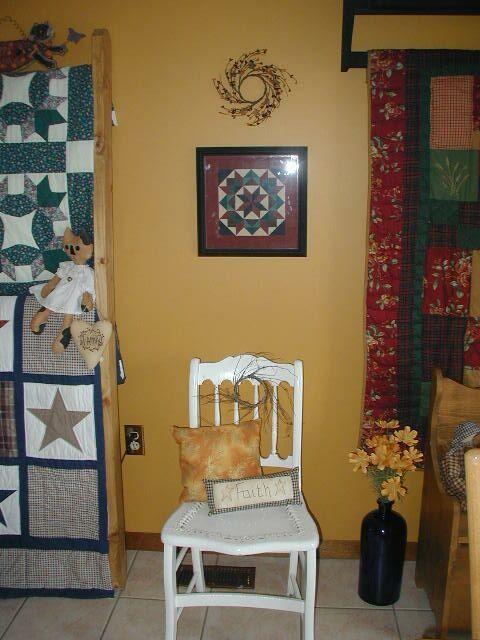 Primitive living rooms primitive livingroomdiningroom living room