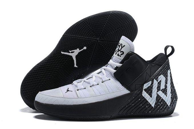 new arrival 3513d 8f6a5 Jordan Why Not Zer0.1 Chaos Black White Men s Basketball Shoes-4