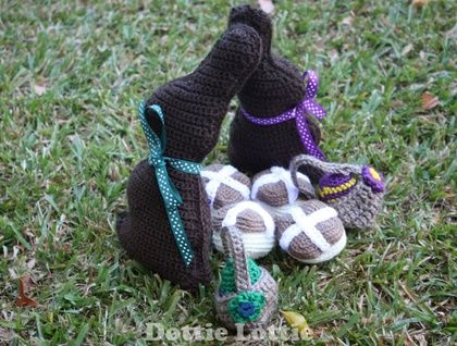 Crocheted Easter Play Food Set
